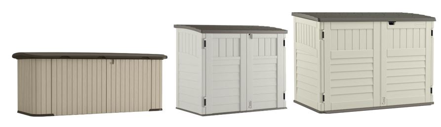 A Range of Outdoor Low Profile Storage Sheds from Suncast  sc 1 st  Storage Sheds Online & Resin - Low Profile Storage Sheds Online